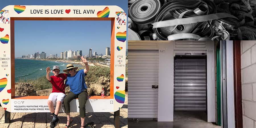Sandra and Peter in Tel Aviv