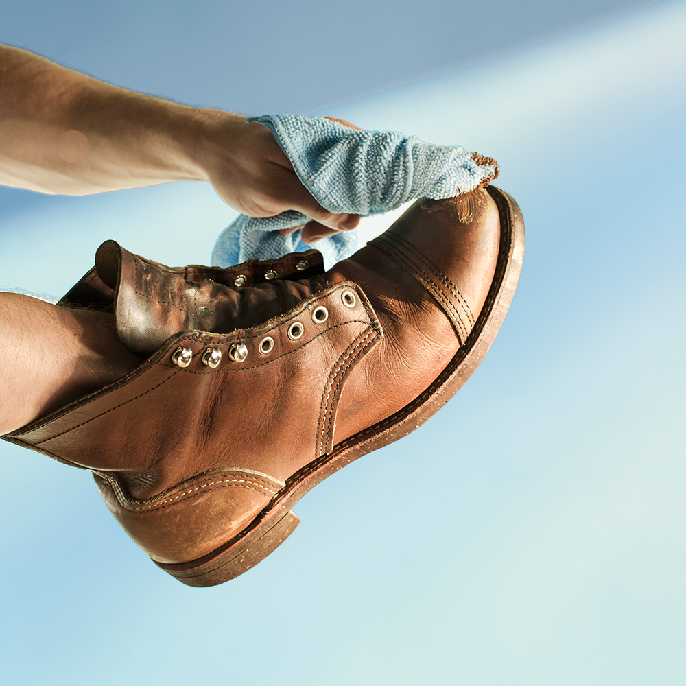 Recondition Package - $20 - When your favorite shoes or boots need a major restore, we can bring them back to greatness!Great for the really bad situations and for shoes and boots that have lost their color, are worn-out, have water damage, salt damage, or are just not alive as they used to be.