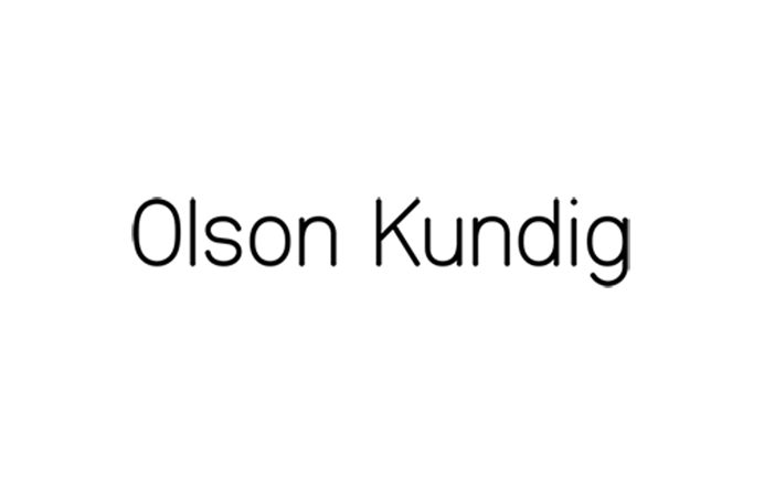 Olson Kundig logo black and white