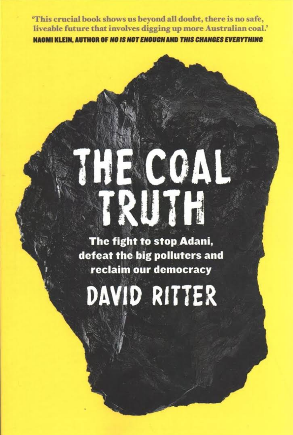 The Coal Truth - Tara and I recently penned the foreword to 'The Coal Truth'. Recently launched by the Sydney Environment Institute, this new book by David Ritter, the Australian/Pacific head of Greenpeace, offers a sobering account of the coal industry in Australia, and the ongoing attempt by Adani Mining to exploit the Galilee Basin — a plan which goes against the wishes of that land's indigenous owners, the scientific community, and majority of Australians. You can get a copy of David's extraordinary book here.Below is a podcast of the launch event, which was held at Sydney University, with Professor David Schlosberg, Co-director, Sydney Environment Institute, chairing the a panel with Professor Lesley Hughes, from Macquarie University, my wife Tara Moss, David and myself.