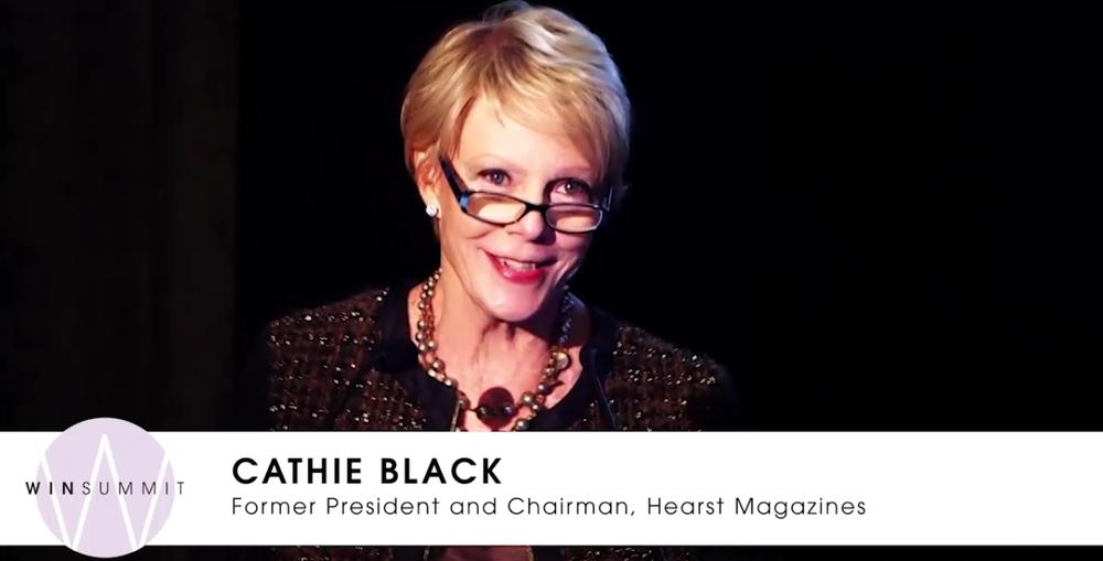 Cathie Black WIN
