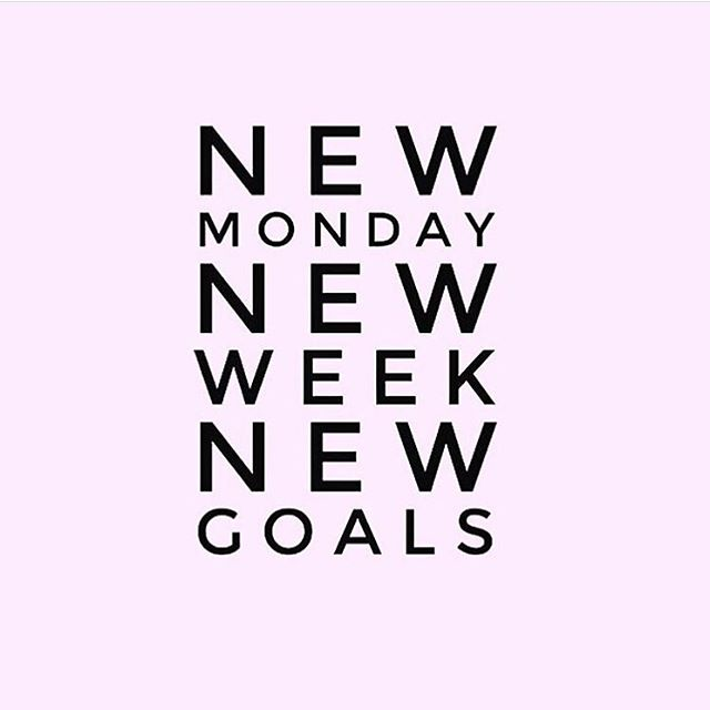 New Monday ✔️New Week ✔️ New Goals✔️. #MotivationMonday #WinningWithWin