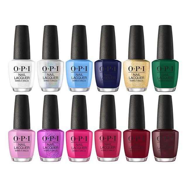 @opi Nutcracker Collection has hit our shelves! 😍 Choose these colours during your next pedi or mani service! We have them in both regular polish and gel polish! 💅🏻🙌🏻
