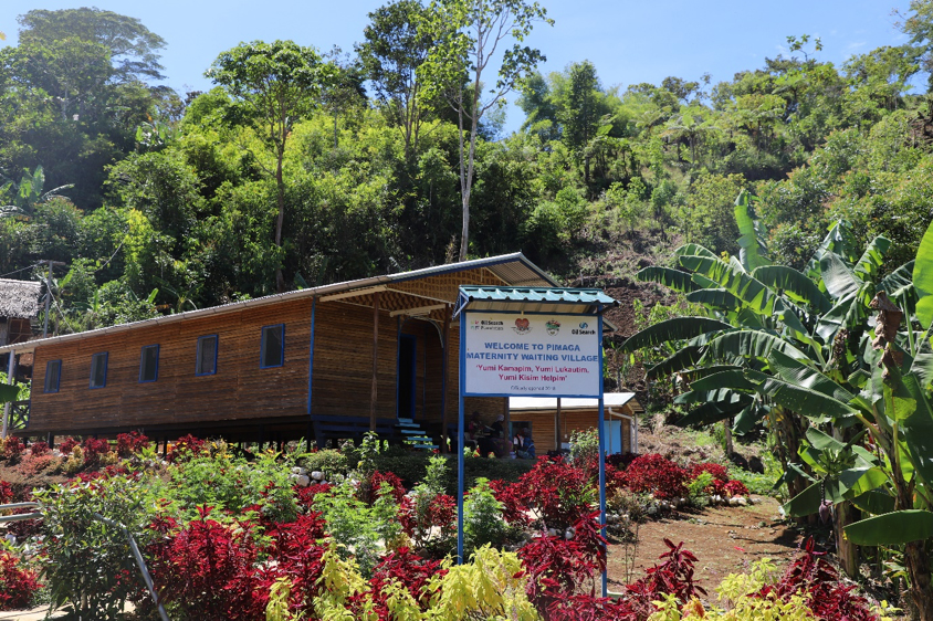 """The village incorporates the Department of Health's """"healthy island"""" concept and was funded by the Oil Search Foundation (OSF)."""