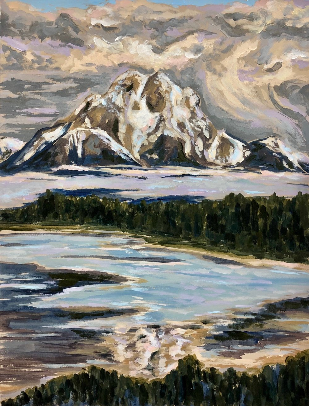Mount Moran - Grand Teton National Park, WY