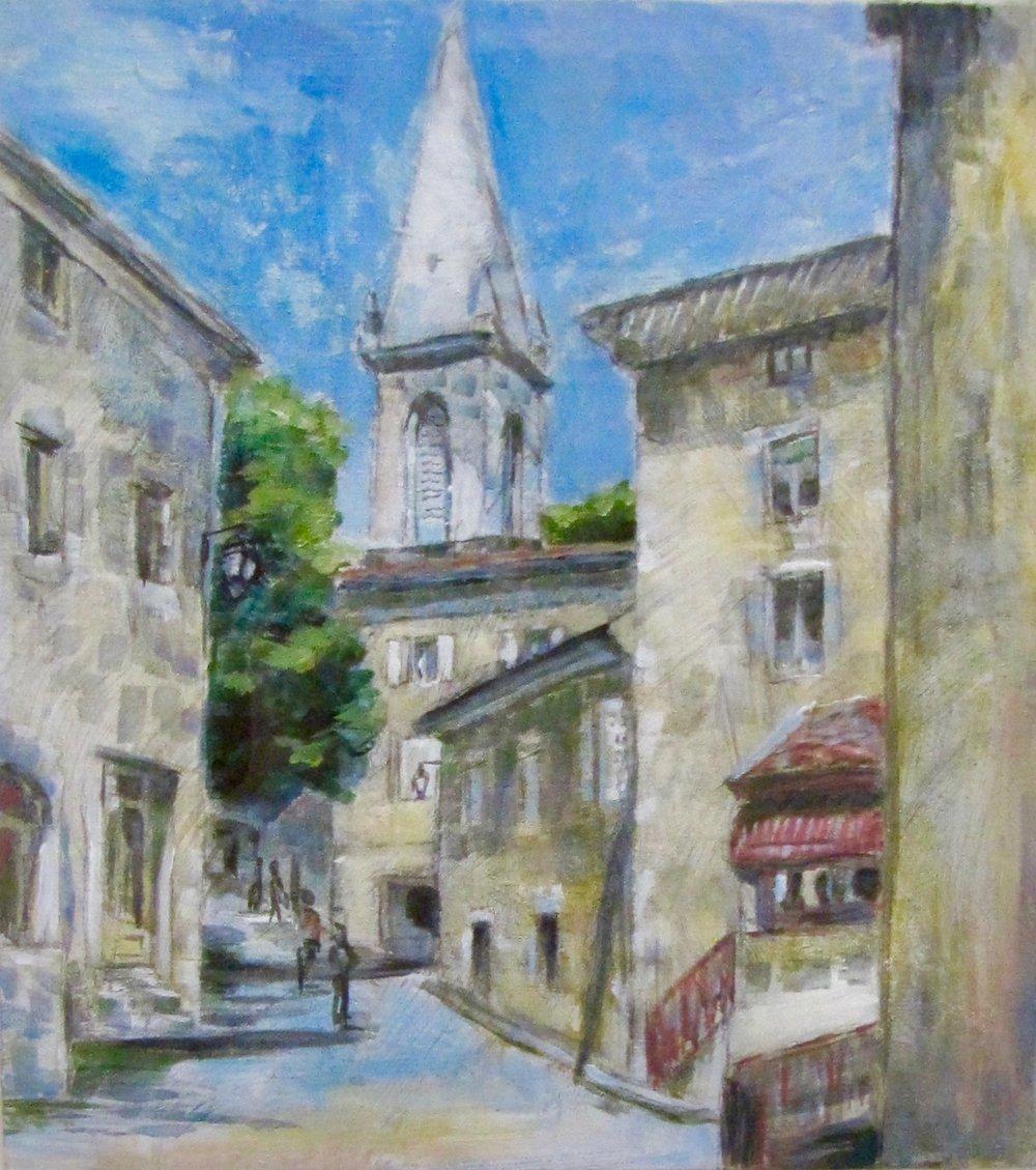 June in St. Pierreville, France