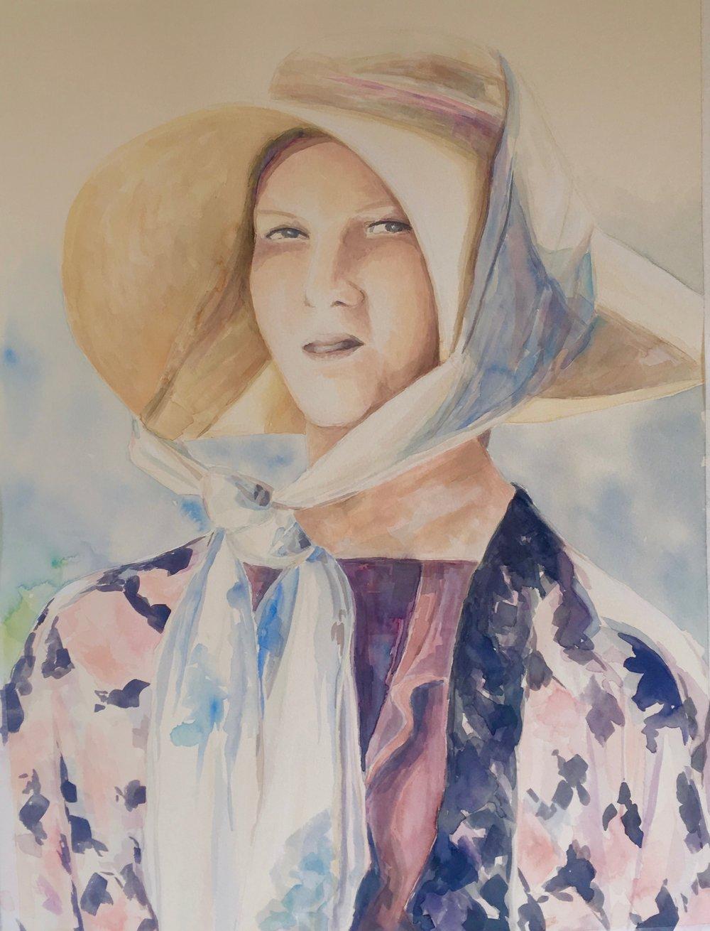 Daria in her Bonnet