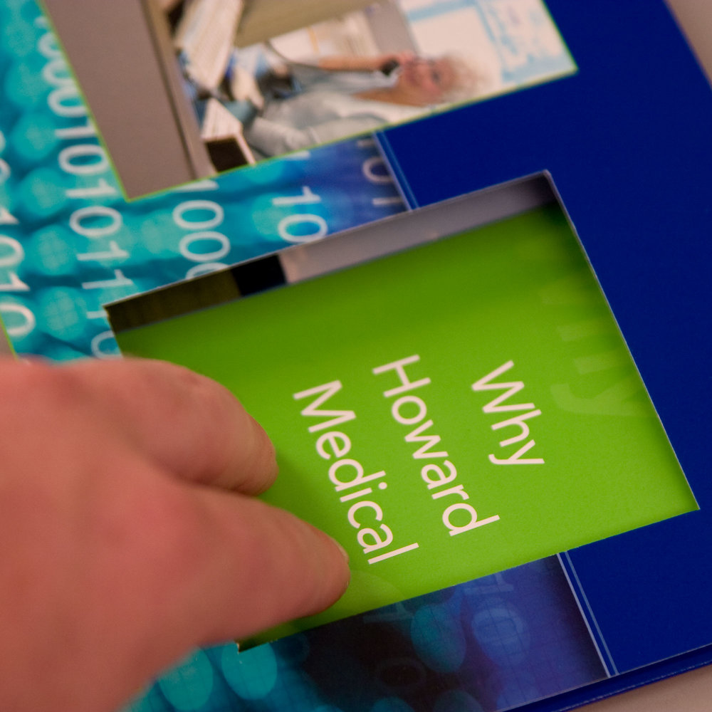 Photography, Videography, Print, Web: Howard Medical