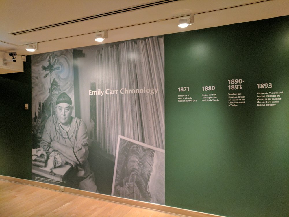 Interior Mural Design - Showroom graphics, In-store advertisements, Office illustrations and more. Location: The Vancouver Art Gallery. Downtown Vancouver, British Columbia Canada