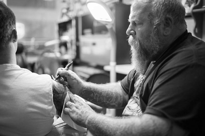 Chuck C tattoo artist