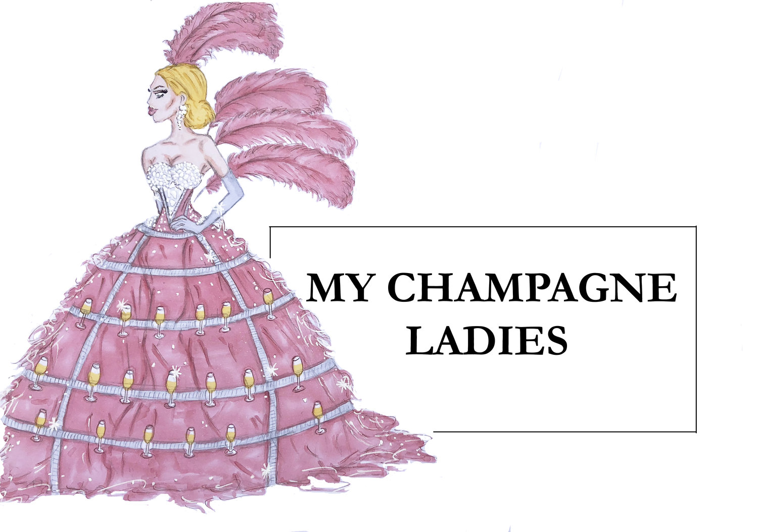 Luxury Event Service | My Champagne Ladies