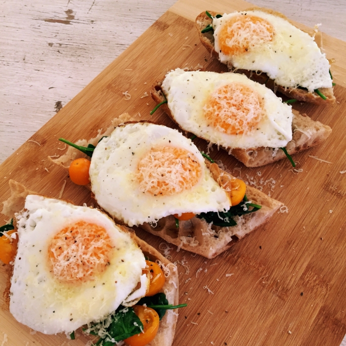 Poached eggs on sourdough.JPG