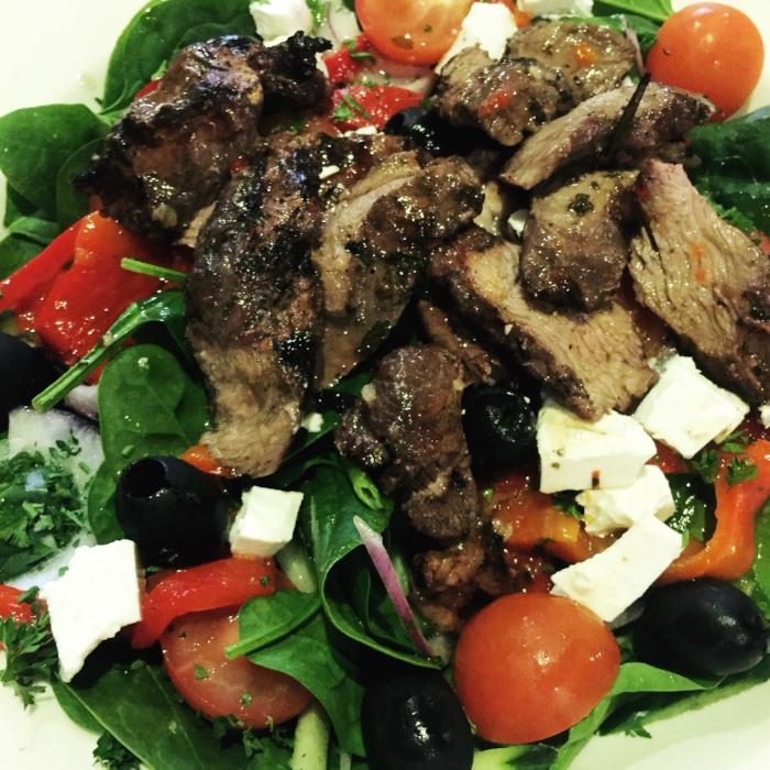 Spinach and rocket salad.JPG