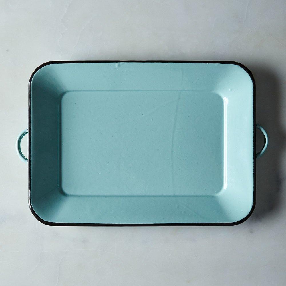 enamel tray