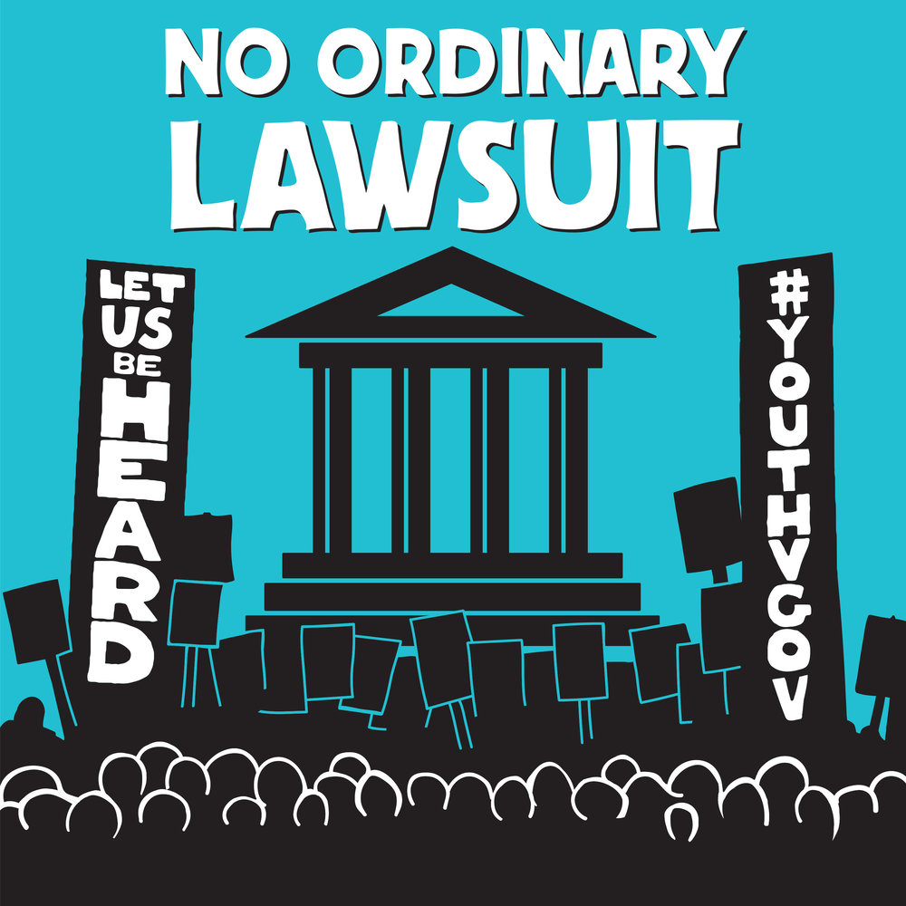 Subscribe and stay tuned to No Ordinary Lawsuit. - No Ordinary Lawsuit follows 21 young Americans who are suing the federal government in a landmark constitutional case, Juliana v. US. The podcast will take listeners behind the scenes of the trial and bring to life the stories of these young plaintiffs' fight to reverse the course of climate change.