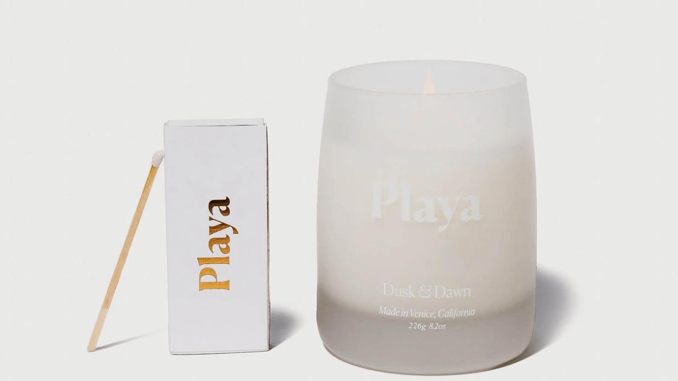 playa dusk & dawn candle