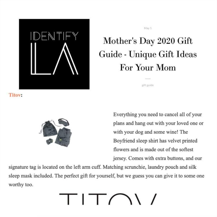 Identify LA best lingerie gift set