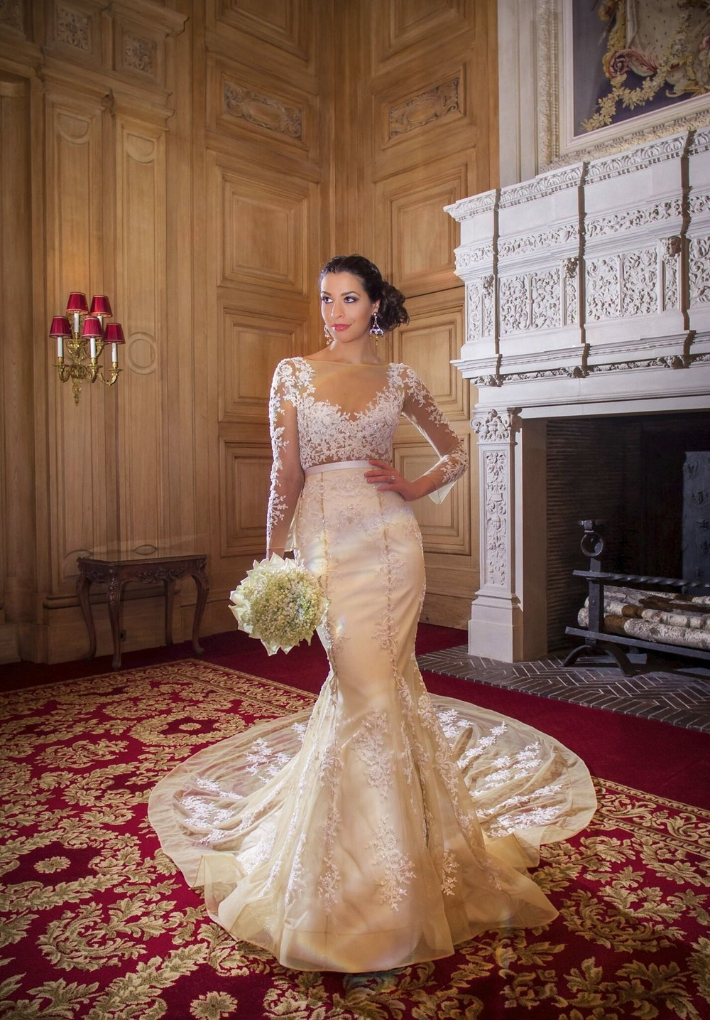 Kosibah Couture Bridal Gown Euterpe