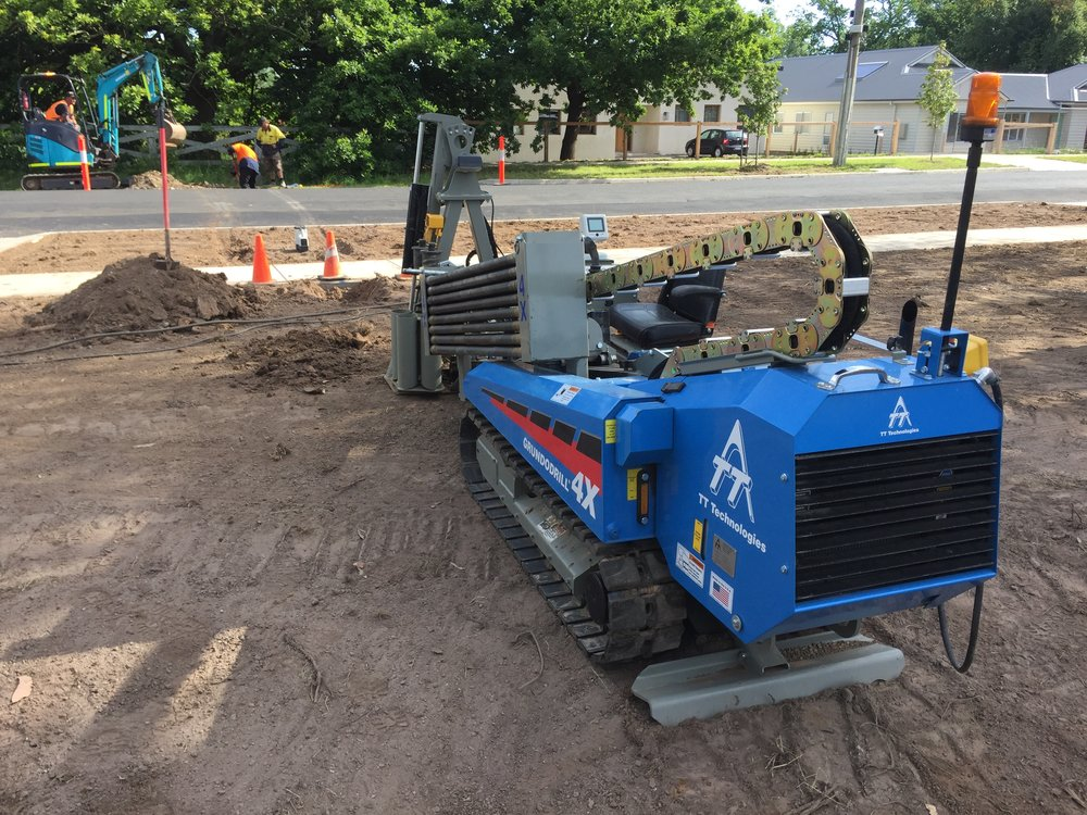 Directional Drilling under road in Bendigo