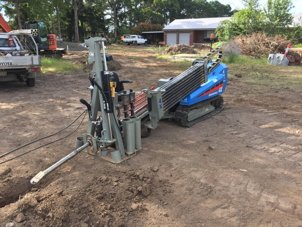 Directional drilling in Gisborne