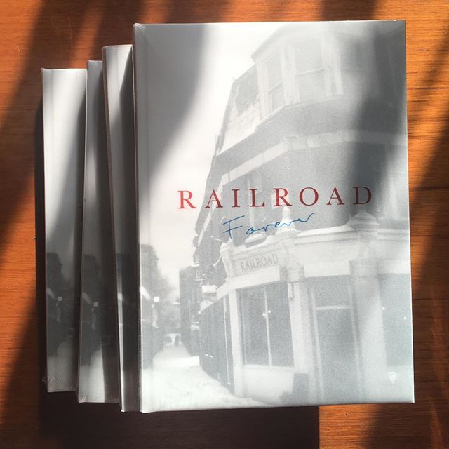 Had a little delivery today from Barcelona. . .  Railroad Forever out 11.10.18 . . .  #railroadforever #cookbook #hackney #hackneyhistory #railroadcookbook  #london #londonfood #londonrestaurants  #foodie #foodwriting  #cooking #feedfeed  #homecooking #cook #feed52