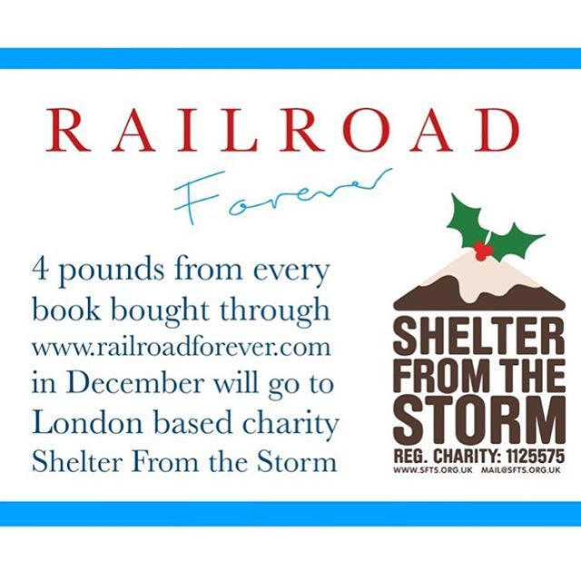 @sftslondon is an awesome charity. They provide homeless people with not only with accommodation and good food, but also counselling, casework, laundry, showers and English lessons. If you're thinking of buying the book as a present this Christmas, please do it through our website and help support these guys. . . . #railroadforever #railroad #railroadcookbook #cookbook #charity #london #londoncharity  #hackneyhistory #homeless  #homelesscharity