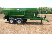 Endurance Pull Type Hydraulic Spreader - The BBI Pull Type Hydraulic Litter Spreaders, Comes standard with Tee Jets Model CL 250 Guidence and Rate Control, Shavings Spreaders, Compost Spreaders,Organics Spreader and Lime Spreaders are available in different hopper styles from 10 to 28 ft long. With the BBI Walking Beam Suspension, your Endurance spreader can handle just about any Terrain. The Litter Spreader, Shavings Spreader and Compost Spreaders is an Endurance Spreader that is Option Rich and can be customized for your specific application. BBI is ready to apply Advanced Technology for the most sophisticated farmer.