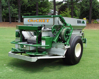 Cricket Ag and Turf - Cricket Ag and Turf - The BBI Cricket Ag and Turf Fertilizer Spreader is a precision fertilizer spreader designed for the golf course or other turf environments. The Cricket Ag is ideal for Golf Courses, Turf, Sod, Food Plots and Small Farms. Various options are available to adapt the unit to particular needs of each environment. The Cricket Ag has a 8' x 48