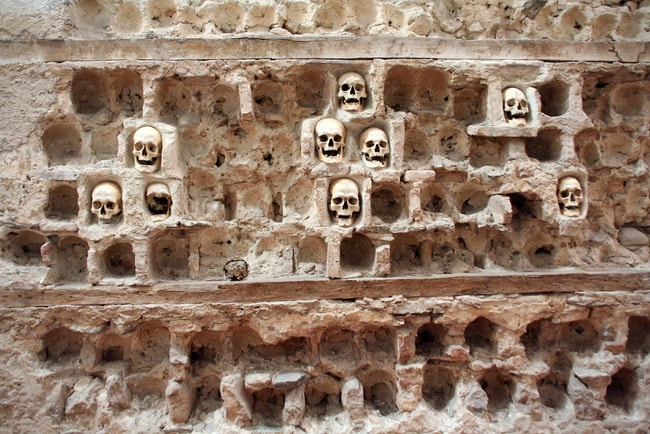 The Skull Tower now