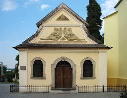 Exterior of the Skull Church -  innocent right?