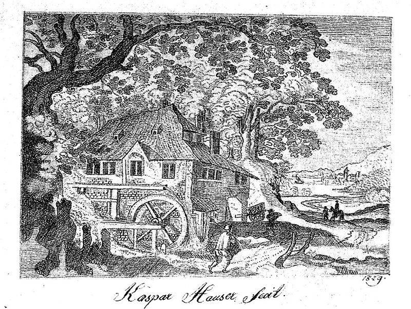 A drawing by Kaspar Hauser.  Pretty dang good, huh?