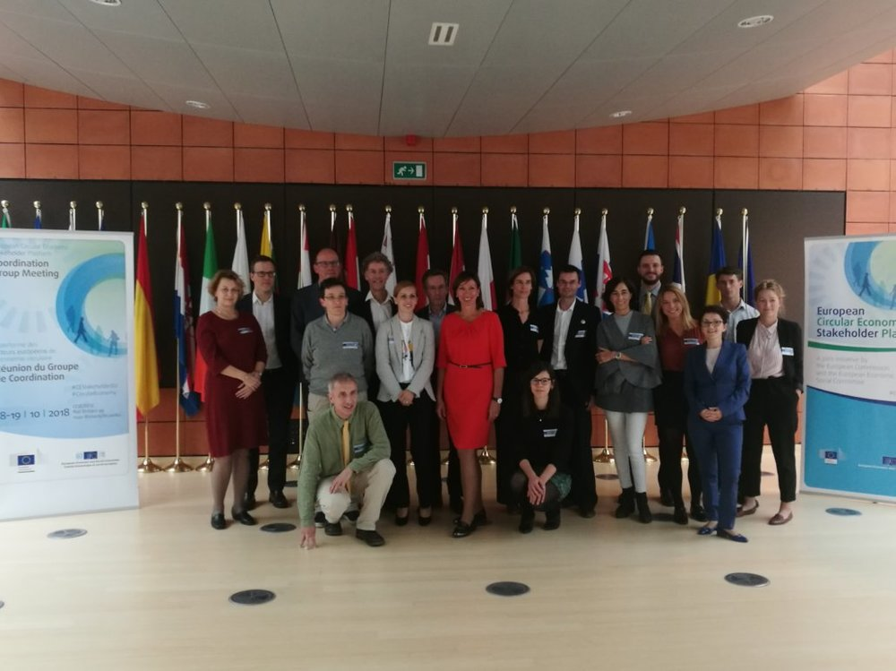 Group photo of ECESP's Coordination Group