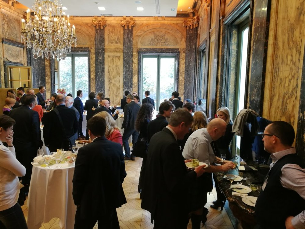 Reception at OECD Paris