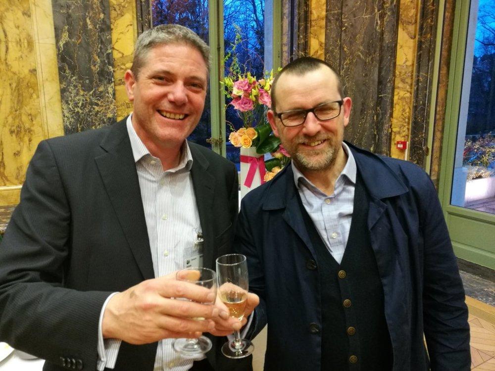 James Hogan and Iain Gulland