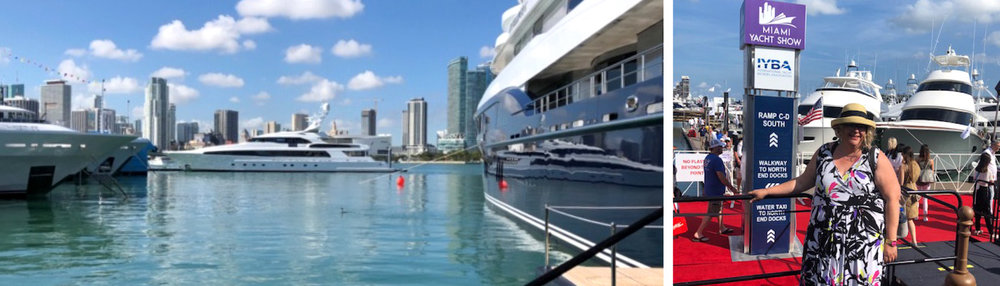 Dianthus Miami attended the Miami Yacht Show 2019