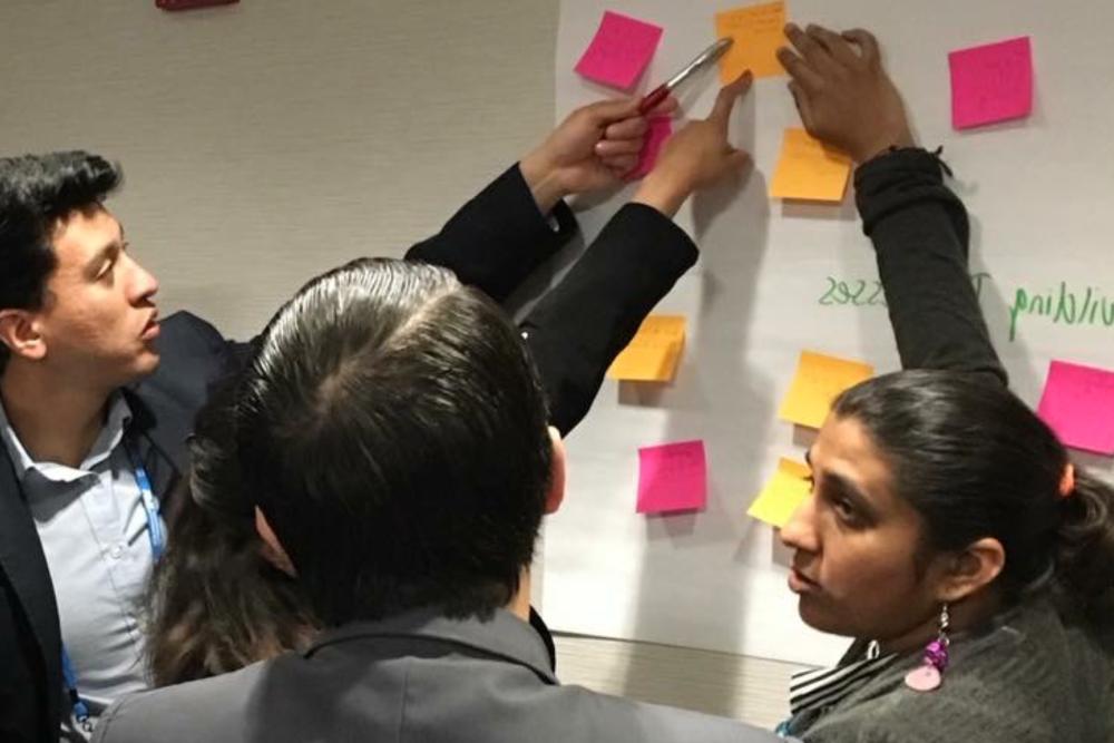 Co-creatón empresarial - EMPRESASDiseño de estrategias de innovación para dar solución a retos empresariales a través de procesos de co-creación y uso de metodologías ágiles.