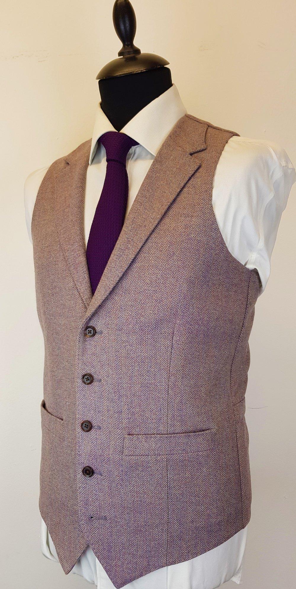 Lavender Tweed Waistcoat (6).jpg
