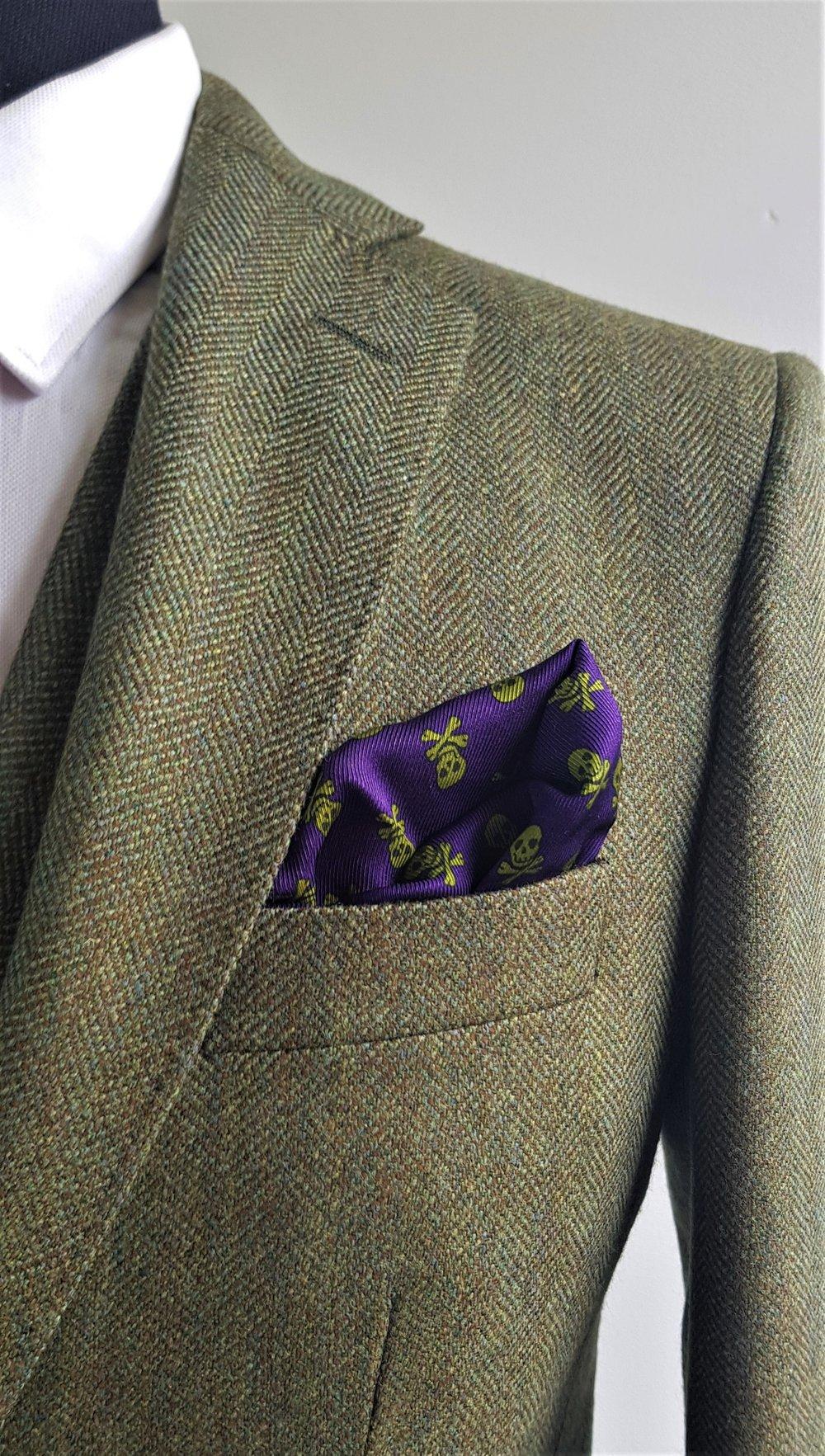 Green herringbone 3 piece tweed suit (7).jpg