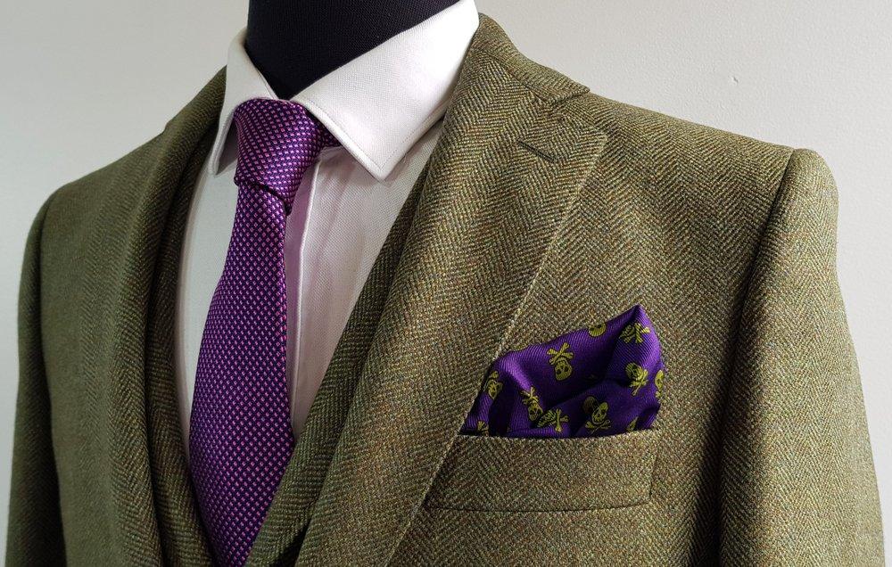 Green herringbone 3 piece tweed suit (13).jpg