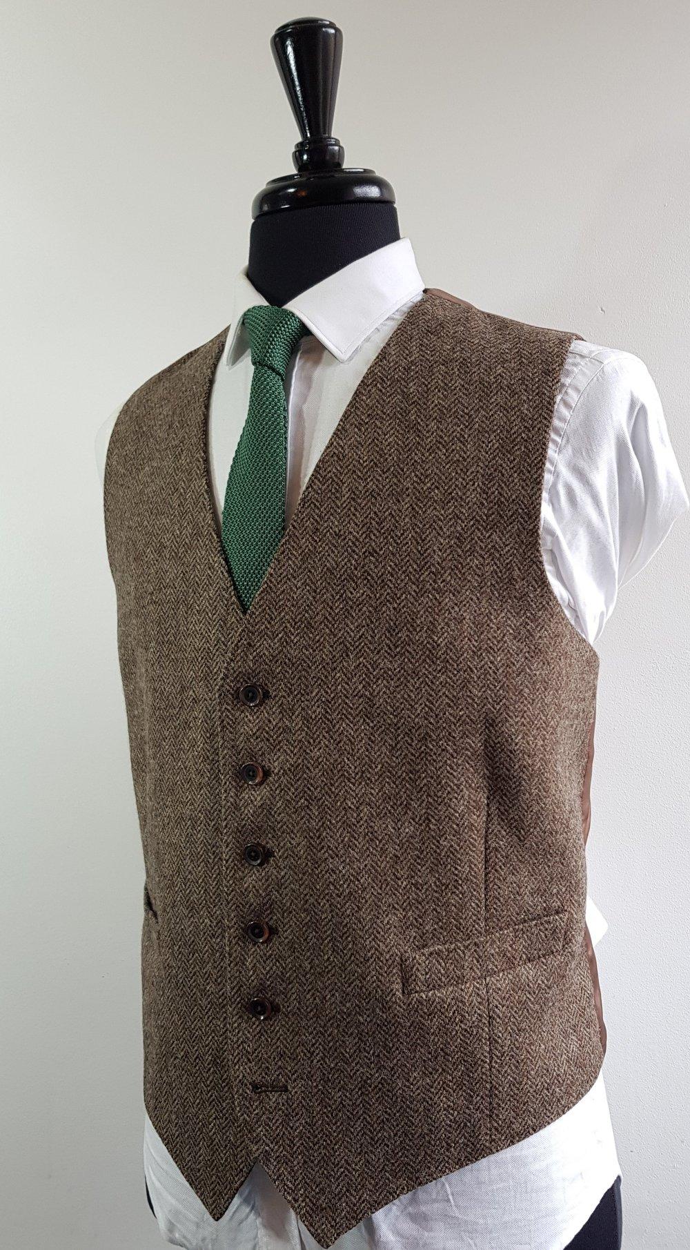 Brown herringbone 3 piece tweed suit (3).jpg