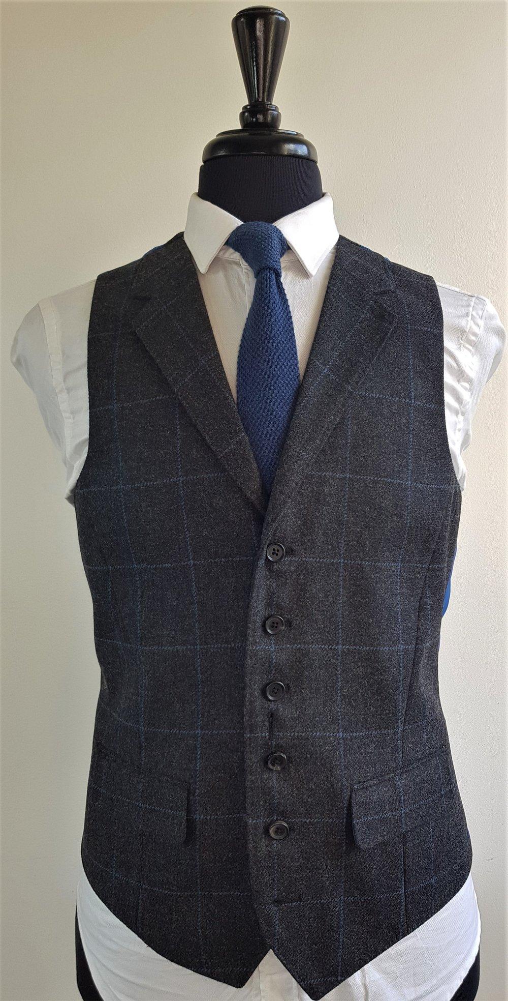 Grey Blue 3 Piece Tweed Suit (2).jpg