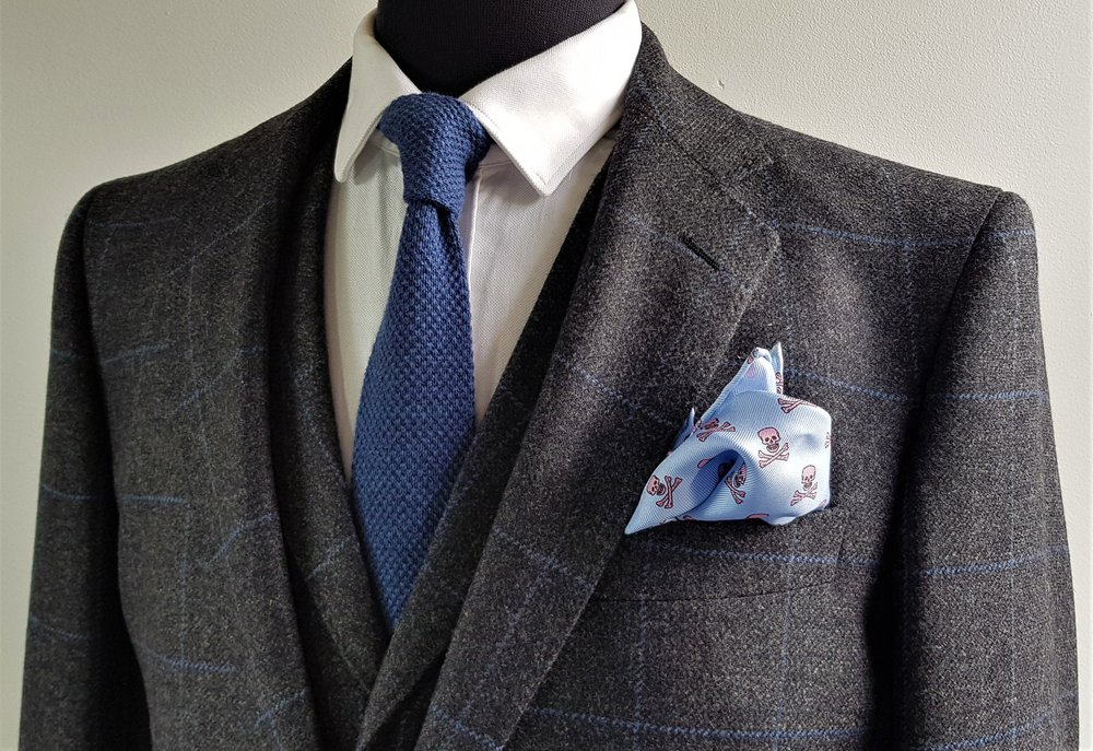 Grey Blue 3 Piece Tweed Suit (7).jpg