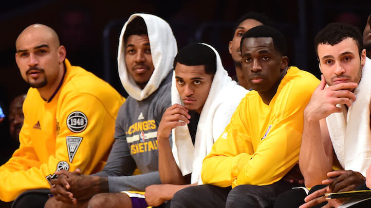 Nick Young couldn't hide. Neither can you, Jordan. (Getty)