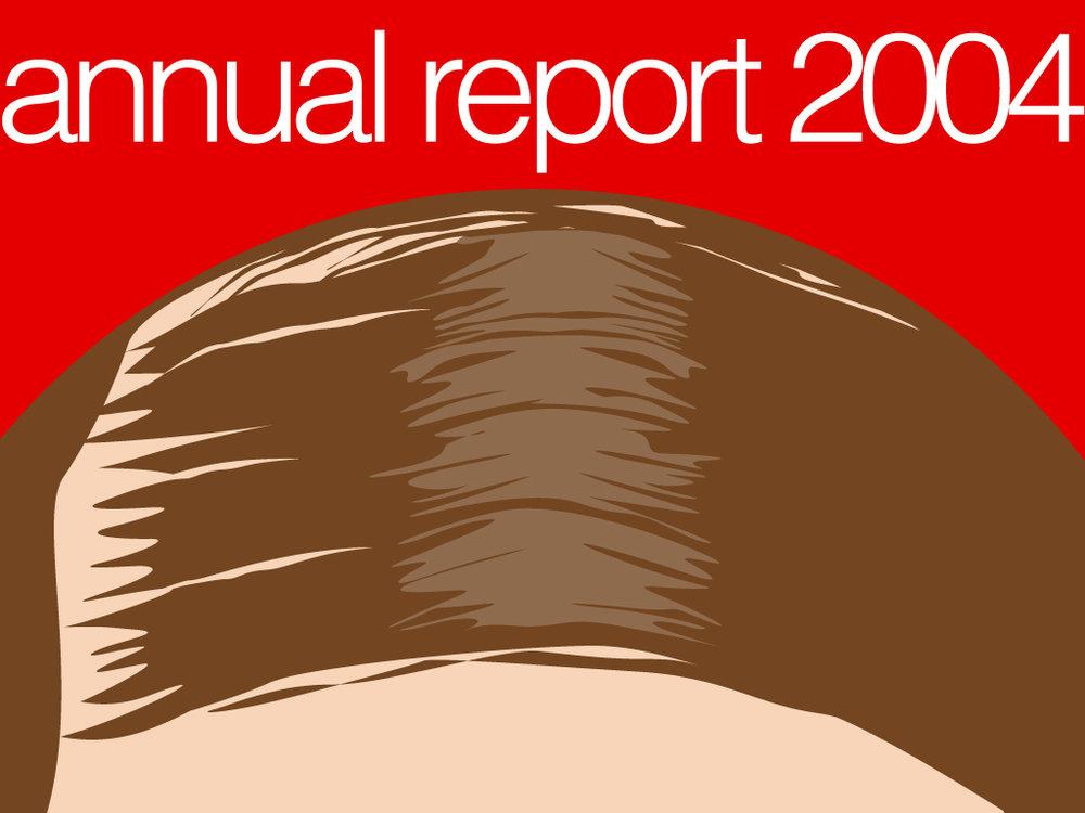 copertina annual report   per winston wolf - la miglior soluzione - 2004