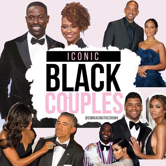 Hold up Black History Month is NOTTTT over ! ⠀⠀ We compiled our favorite black couples, don't see your faves? Comment below & let us know 💕
