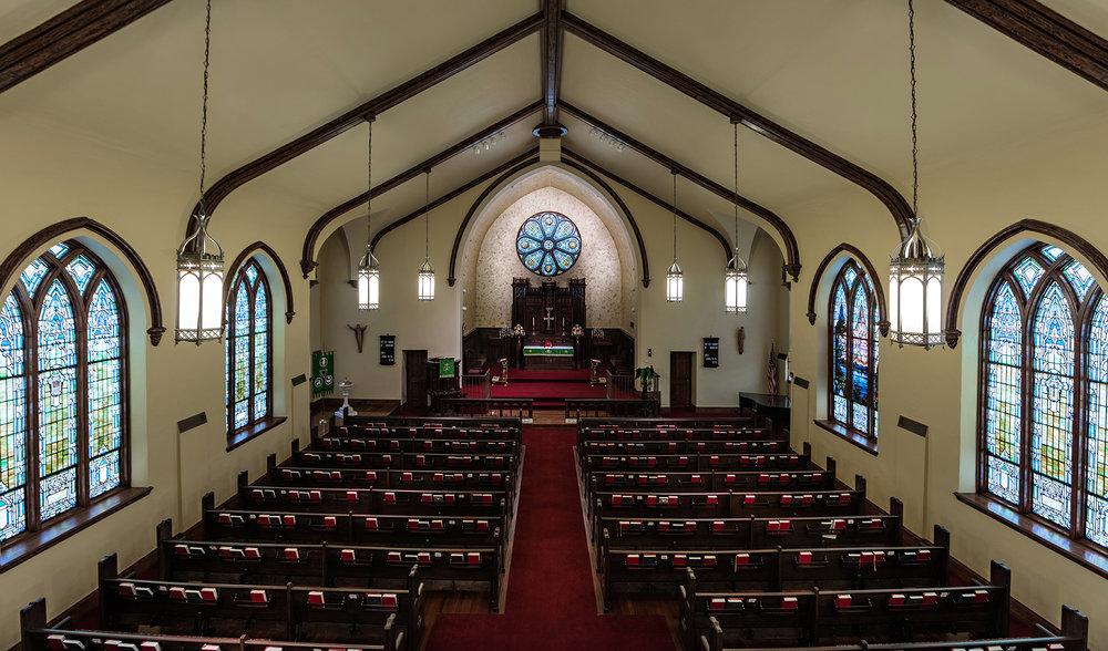sanctuary from choir loft