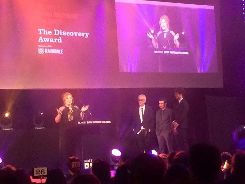 Winner: Discovery award, BIFA