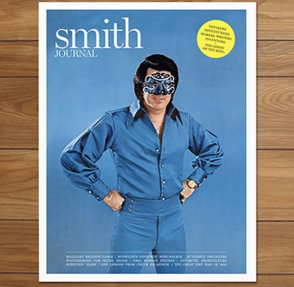 On the cover of Smith Journal