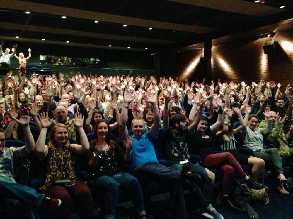 Homecoming audience in Dundee