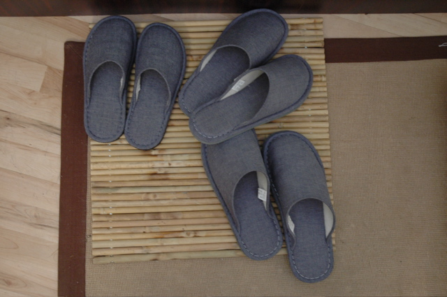 Slippers for all vistors